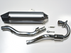Polished Stainless Steel Performance Exhaust For The CSC TT250 Enduro/Dual Sport Bike With Jet Kit