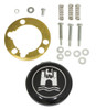 Stock VW Design Replacement IVORY Steering Wheel Kit T-1, Ghia, Type-3 1962-1971