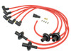 90 Degree Suppressed Ignition Wires, Red, Compatible with VW Type 1-2-3 Engines