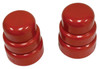 Rear Suspension Bump Stop, Type 2, 1964-1979, Pair, Red