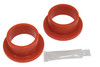 """Flanged Grommets, 2-1/4"""" O.D. x 1-7/8"""" I.D., Pair, Red, Compatible with VW Dune Buggy"""