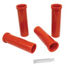 Bushing Kit, In/Out, Fits 45mm Alum. Tube, Red, Compatible with VW Dune Buggy
