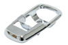 Chrome Plated Escutcheon, Left OR Right Side, Compatible with VW 71-73 S/B Convertible, 69-73 Bus, 71-74 Ghia