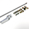 Column Linkage Shift Kit, Machined Aluminum, Compatible with Ford C4 and C6