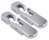 Pirate H20002SC 2003-2010 H2 Hummer SUV & SUT Smooth Chrome Billet Hood Latches