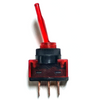 United Pacific Red Glow  20 Amp Toggle Switch - Single Throw