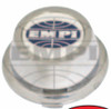 10-1106-0 Tall Chrome Plastic Cap For EMPI Riviera, Sprintstar, and 914 Alloy Wheels, EA