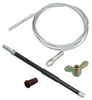 Clutch Cable Kit, Compatible with VW Type 2 Transporter/Bus 1960-1962