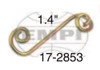 """17-2853-0 SPRING FOR TABS (1.4""""),EA"""
