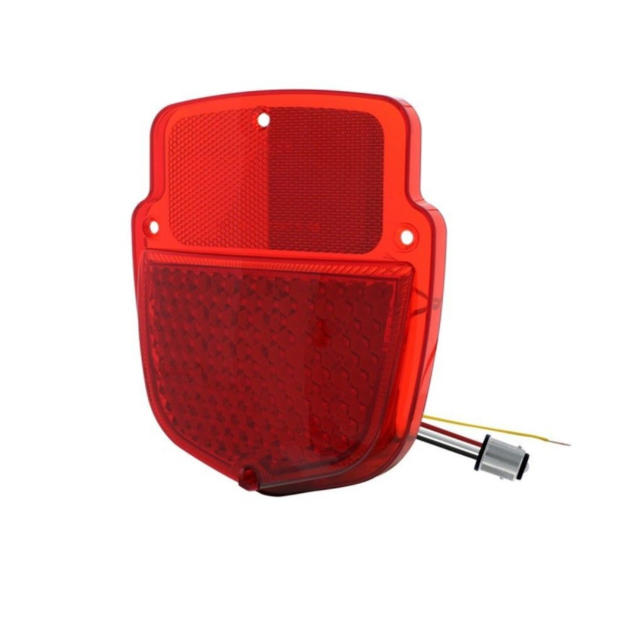 38 Red LED Sequential Tail Light - 1953-56 Ford Truck - Right Hand / Passenger S