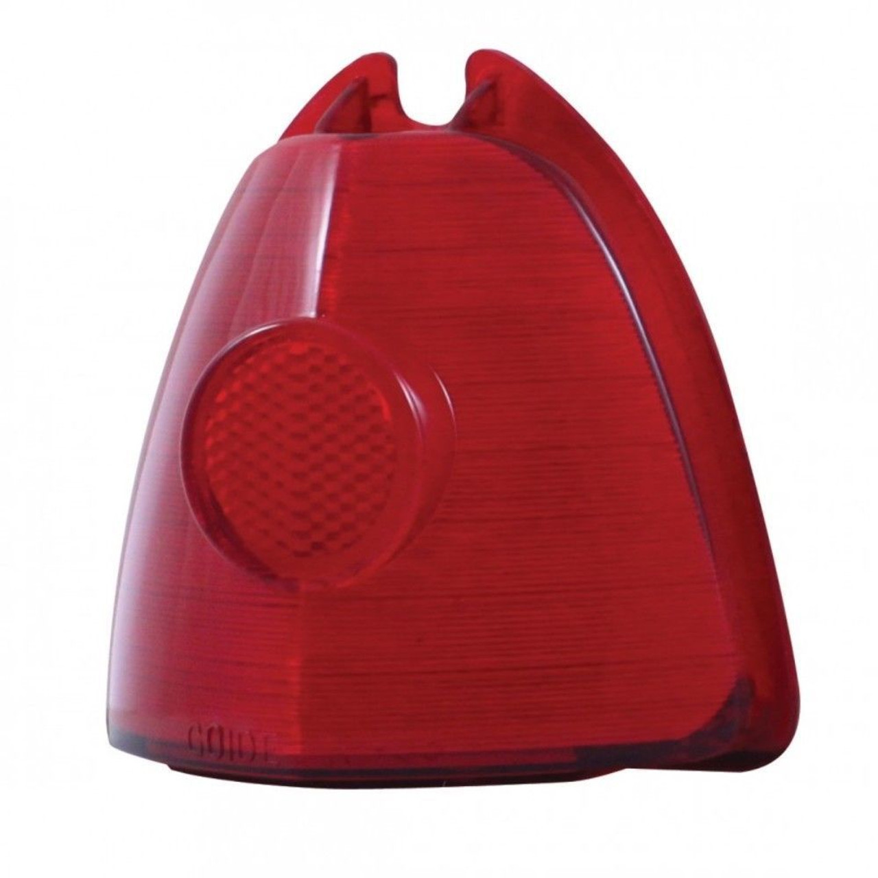1953 Chevy & GMC Red Plasic Incandescent Stop & Tail Light Lens 5943403