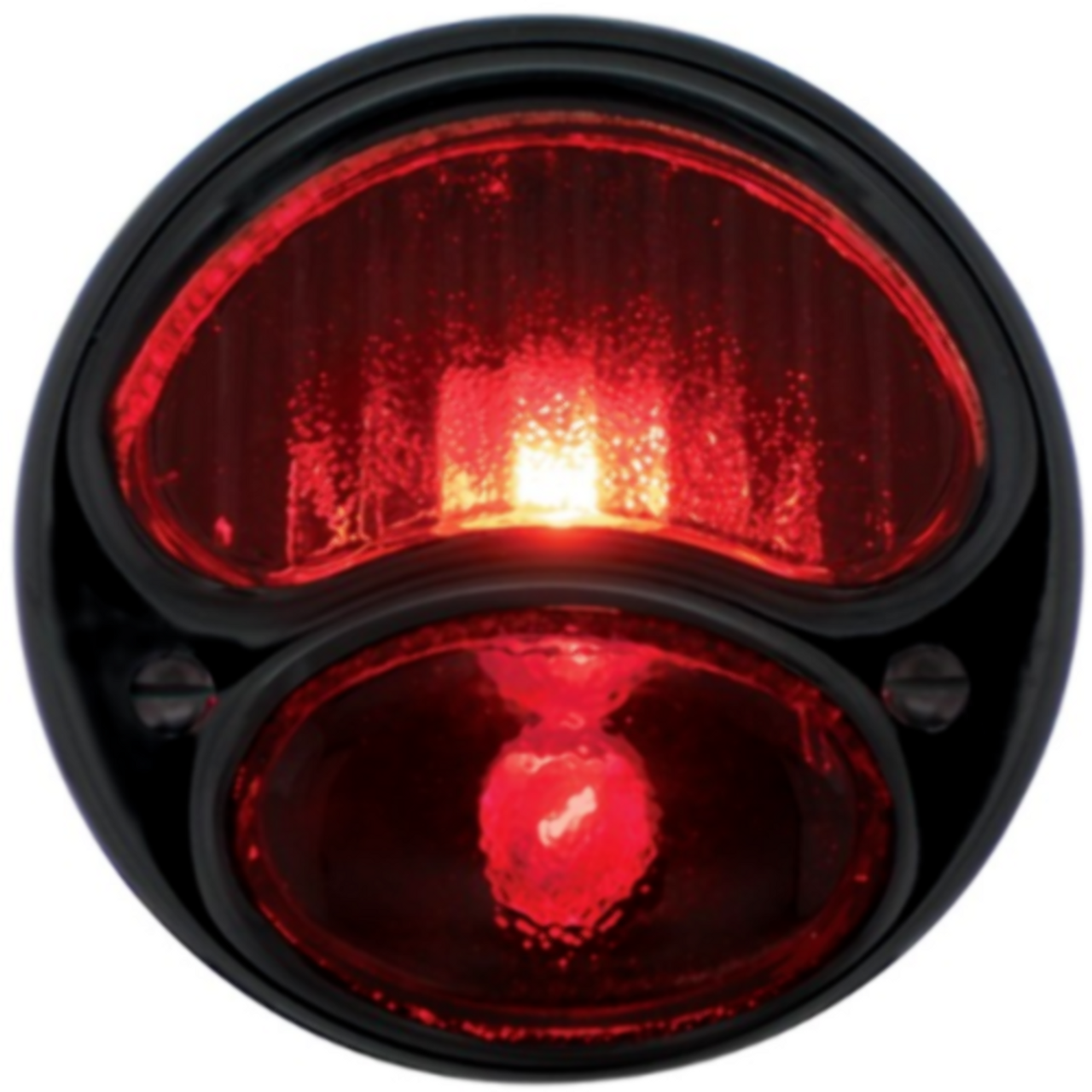 TAIL LIGHT WITH ALL BLACK HOUSING - R/H, Fits 1928-31 INCANDESCENT FORD MODEL A