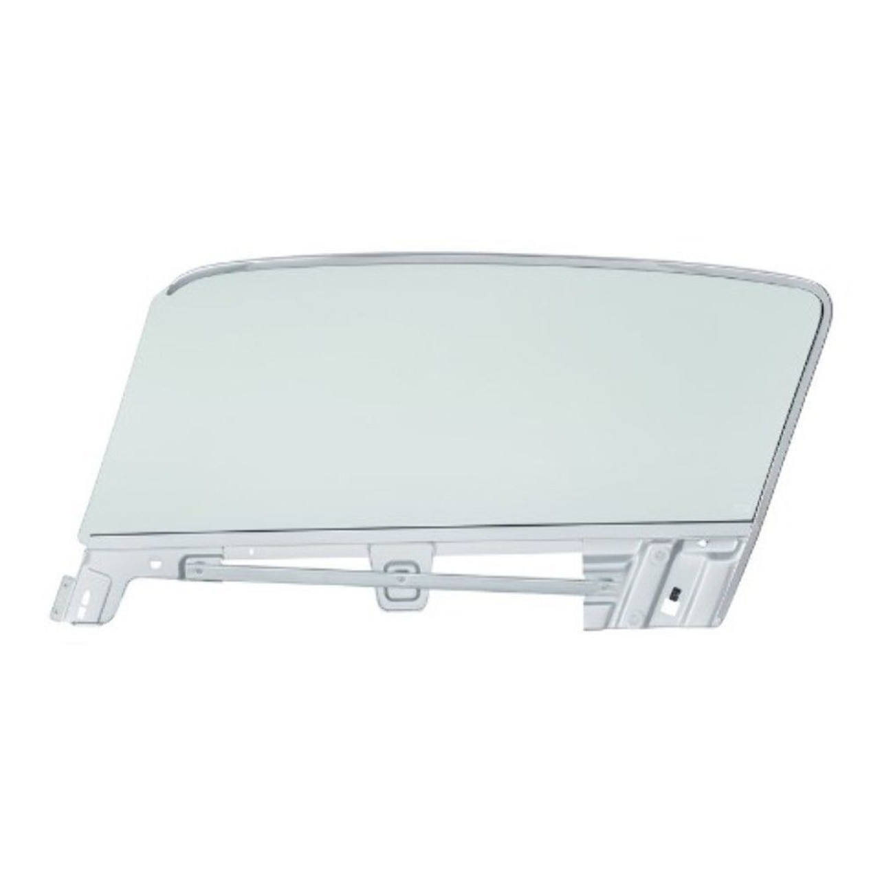Complete Tint Door Glass Assembly  - R/H, Fits 1967-68 Ford Mustang Fastback