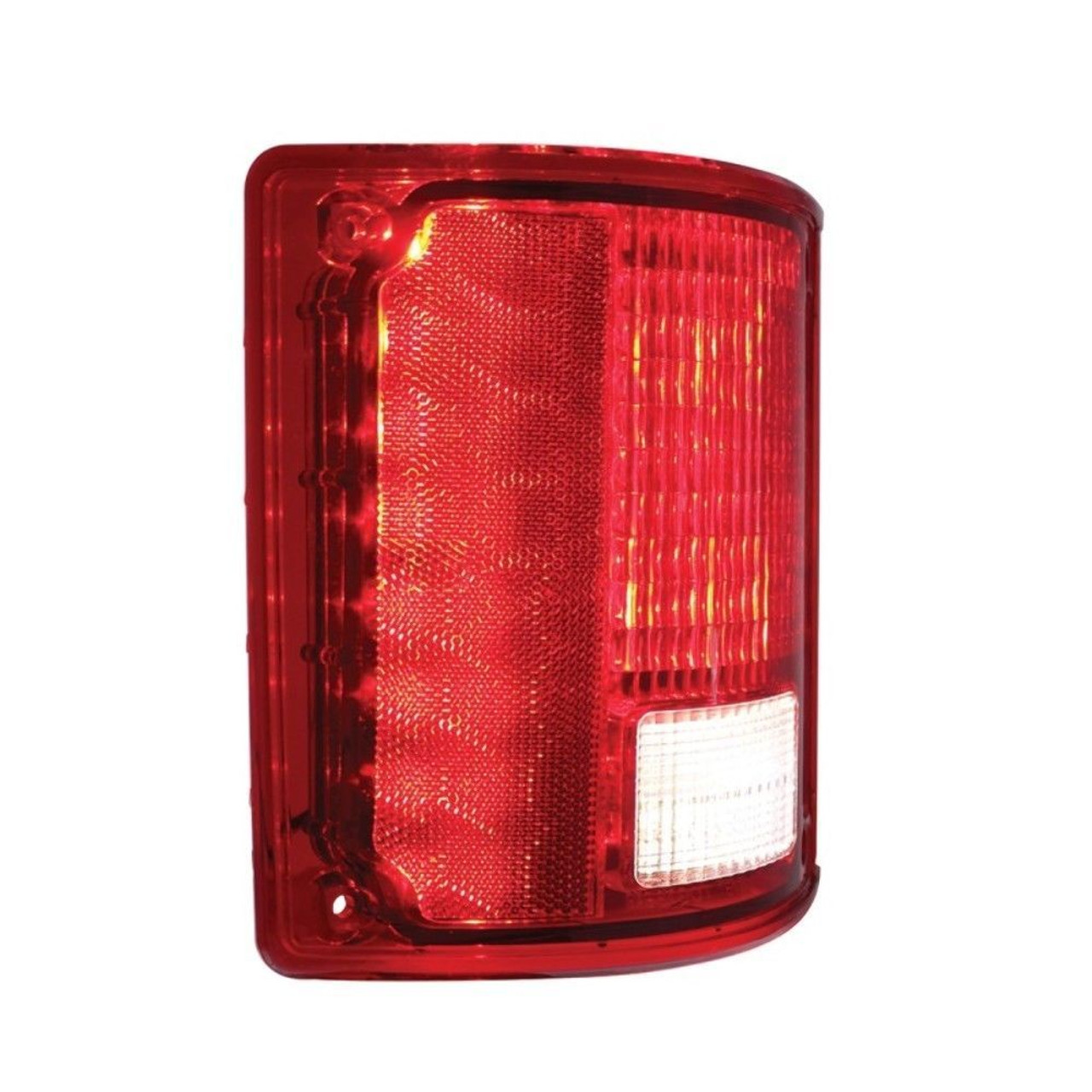 1973-87 Chevy GMC Truck LED Sequential Tail Light Without Trim, Driver Left Hand