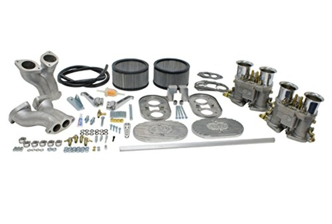 DUAL 40MM D-SERIES CARB KIT, Deluxe Kit For Type 4 VW, Dunebuggy & VW