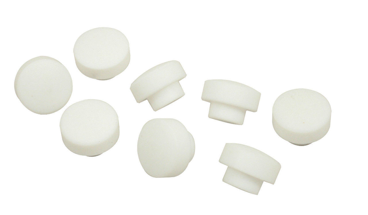 Poly Piston Pin Retainer Buttons, 87/88mm, Set 8, Fits VW Air Cooled Bug Sand Rail, EMPI 4071