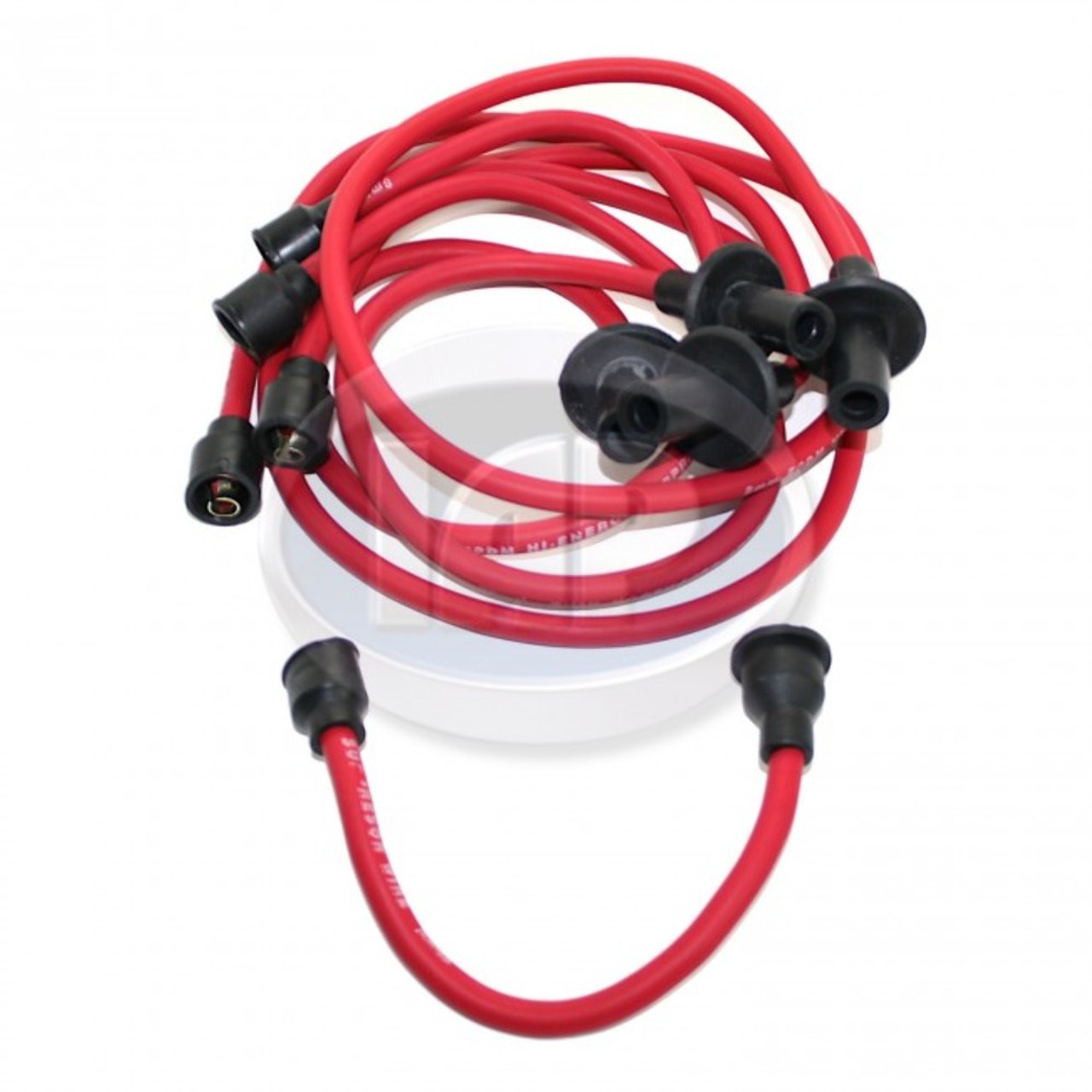 IAP AC998014B Ignition Wire Set, Red For Air Cooled VW 1200 - 1600cc Engines