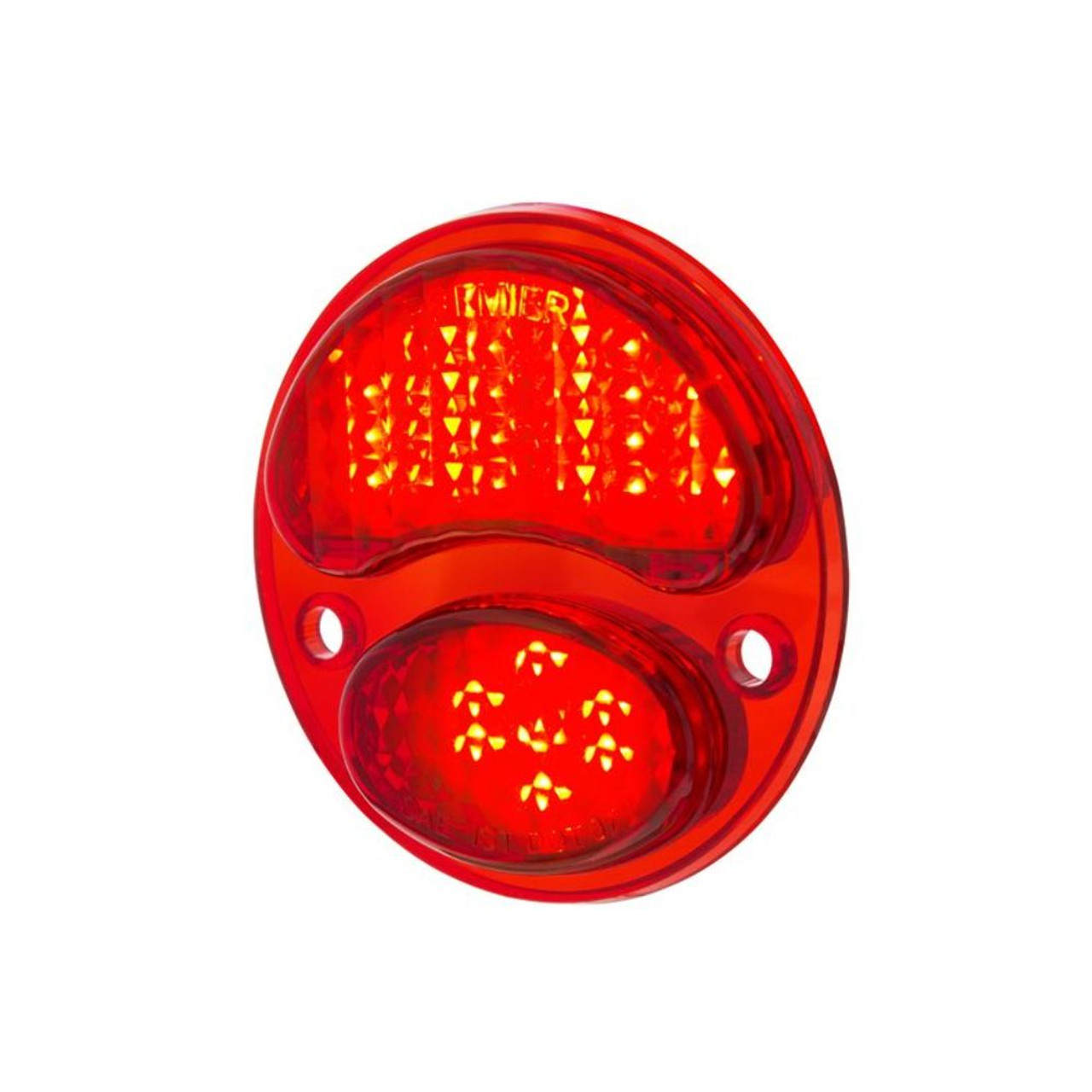 31 LED Red Sequential Tail Light, Passenger / Right Side For 1928-31 Ford Car
