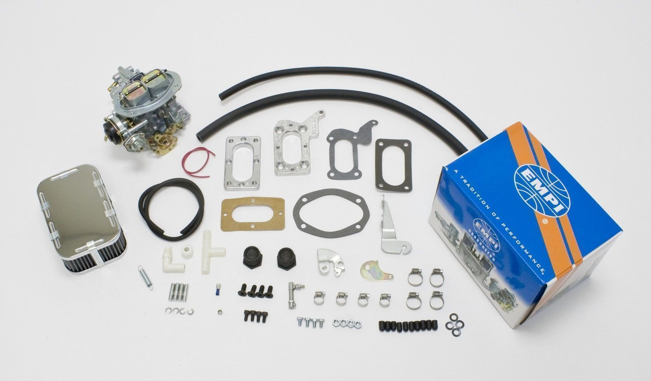 EMPI 32/36F Carb Kit Electric Choke Fits Mitsubishi Chrysler Dodge 2.0/2.6L