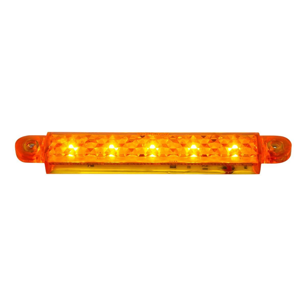 "5"" 5 Amber SMD LED Light Strip With 3-Wire Connection"