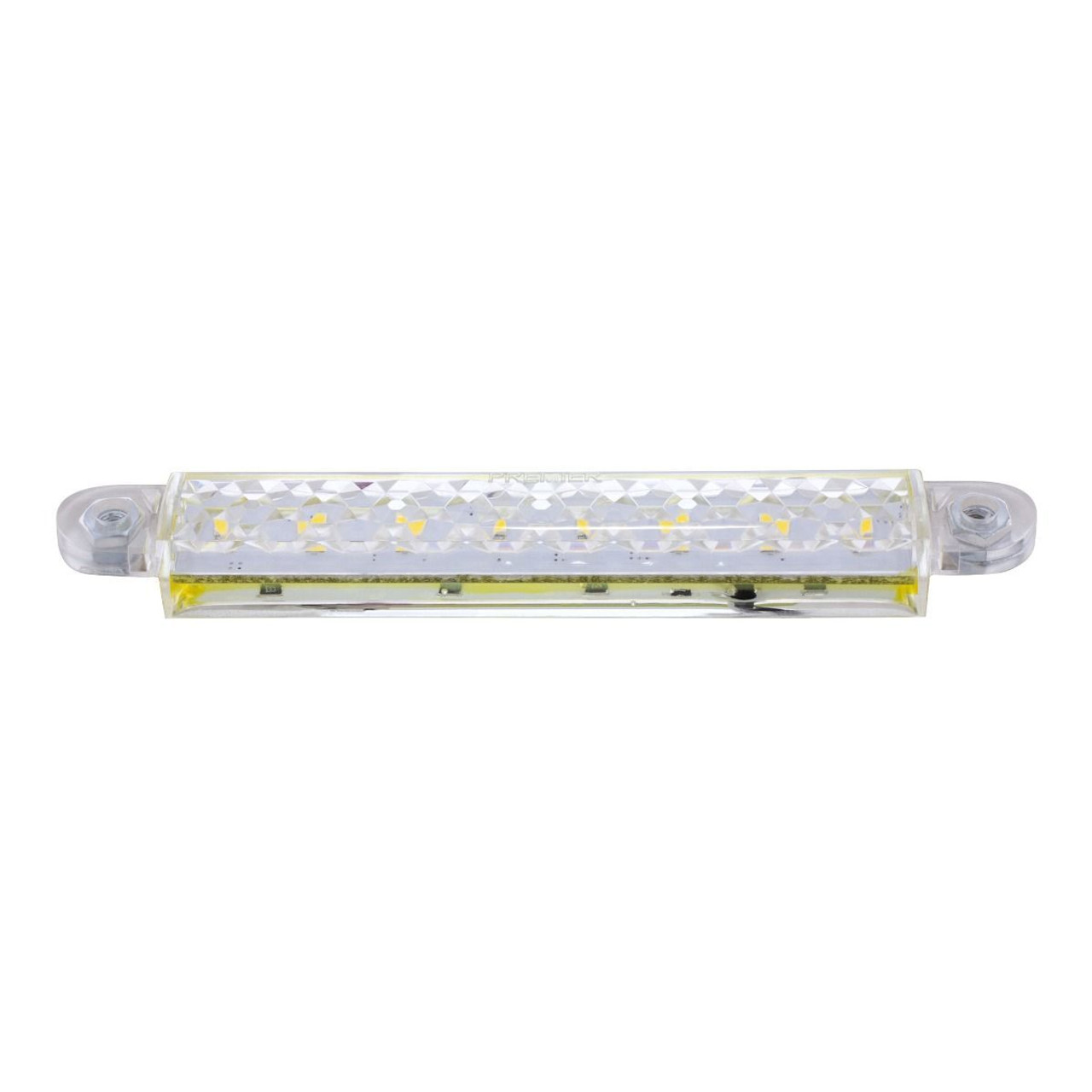 """5"""" 8 White LED Light Strip With 2-Wire Connection"""