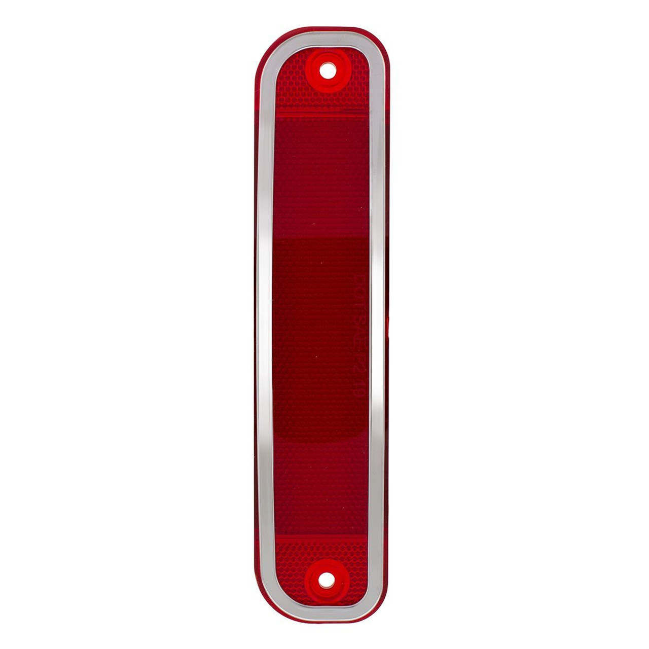 15 LED Red Lens Side Marker Light W/ Stainless Steel, 1973-80 Chevrolet Truck
