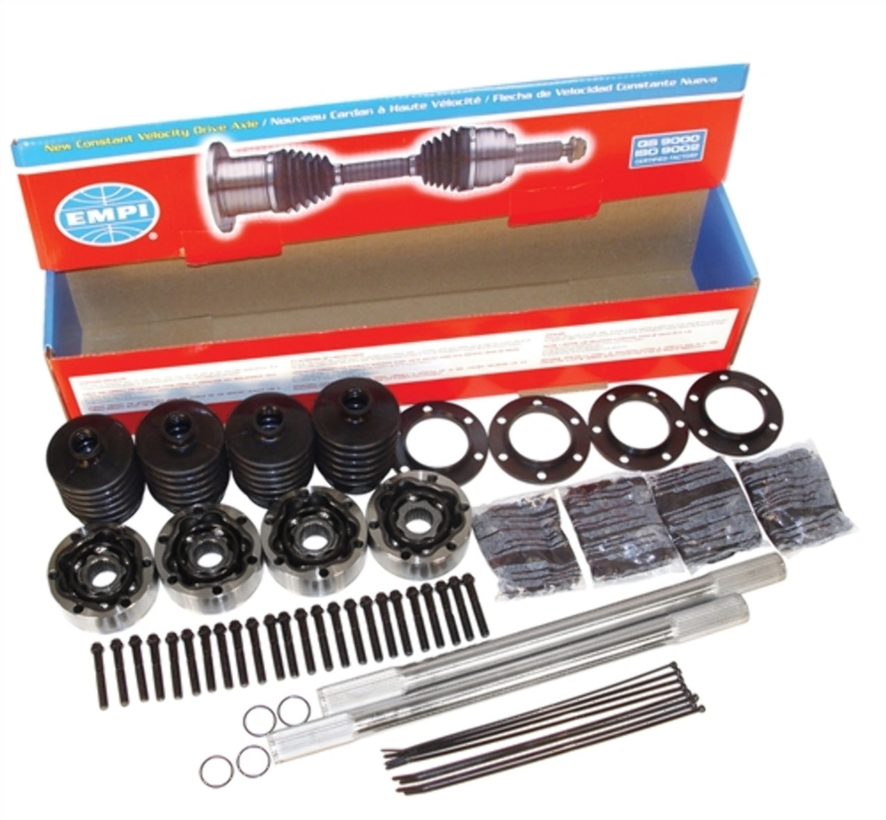 "Empi Hi-Performance 930 Axle Kit, 22"" with 28 Spline Axles"