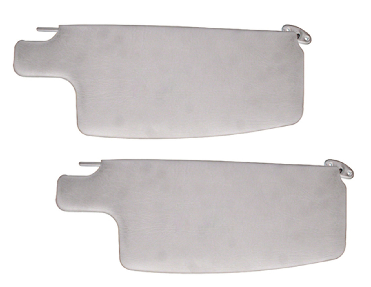 Sun Visors, Ivory, Compatible with VW Beetle 1965-77 & Convertible Bug 1973-79
