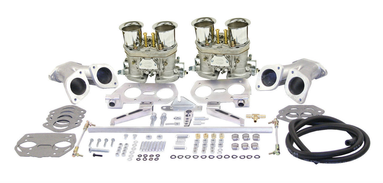 EMPI VW  DUAL 44 HPMX TYPE 1 CARB. KITS WITH OUT AIR CLEANERS 47-6319