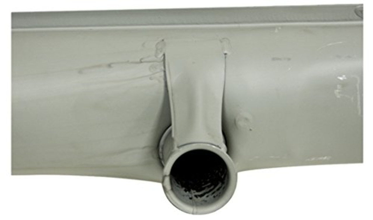 EMPI 95-3003-B Euro-Made Stock Replacement Muffler Type 1, 1300-1600cc Replaces OEM #113 251 053AKEUVW Bug, Beetle, Volkswagen