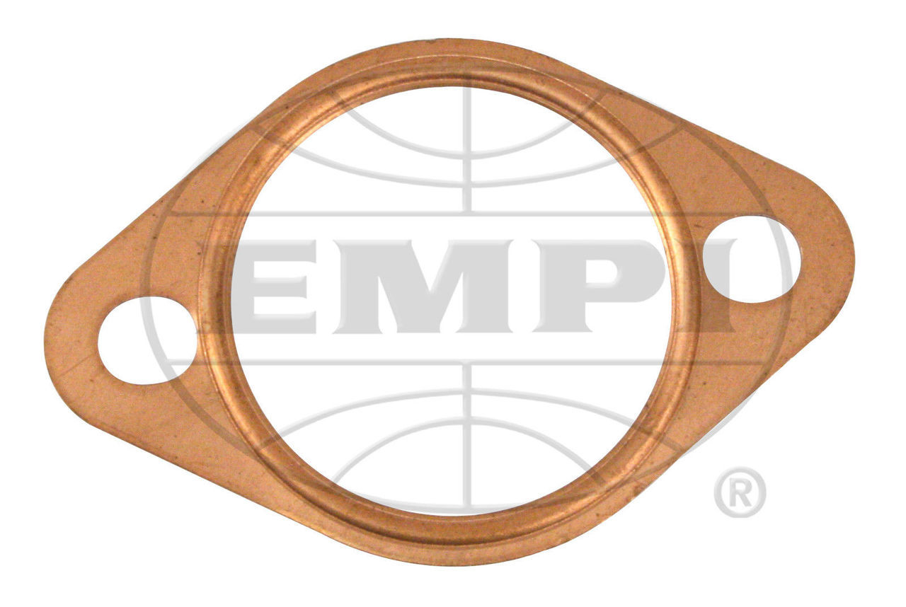 """EMPI VW Air Cooled Bug, Copper 12-1600 Exhaust Port Gasket 1-5/8"""" ID 4PC 17-2821"""