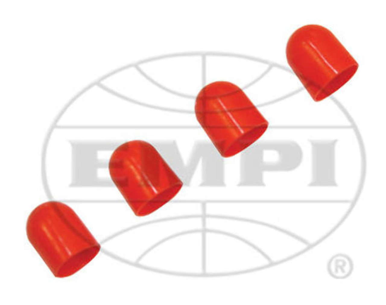 Light Diffusers Red 11/32, 4 pc Set, Fits VW Air Cooled, VDO 600857