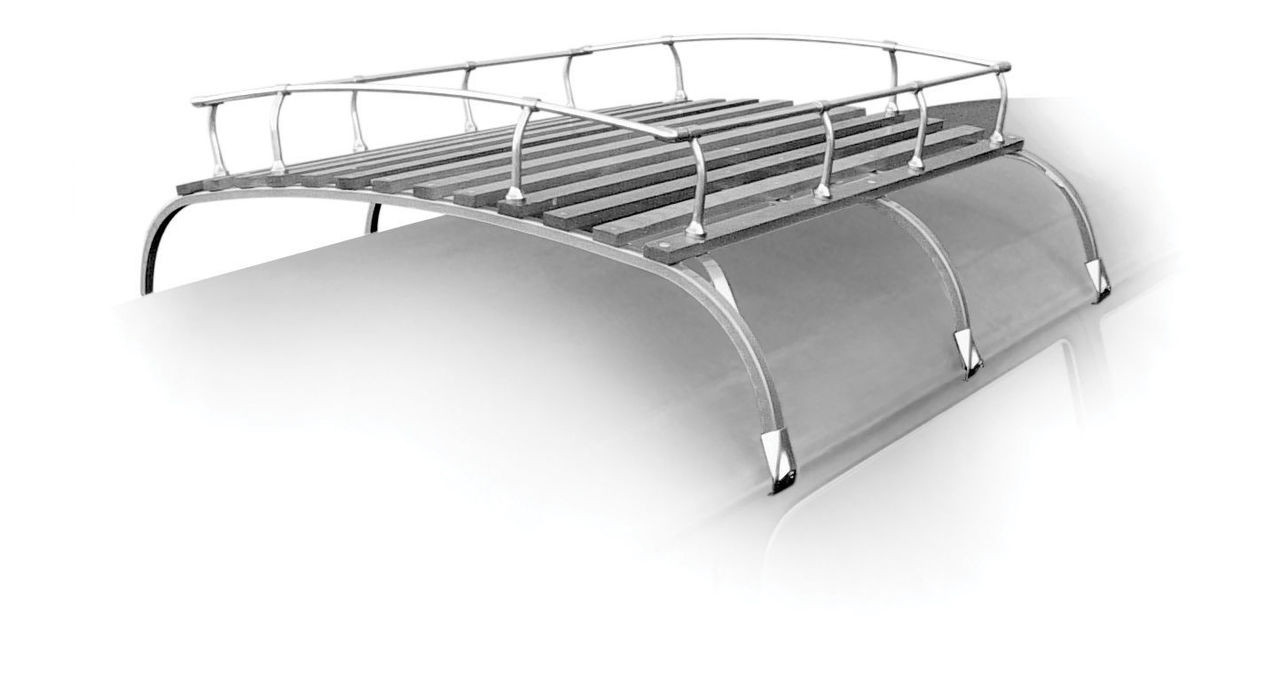 Roof Rack, Classic Knock Down Style, Fits VW Bus Westfalia Type 2 1950-79 - 15-2011