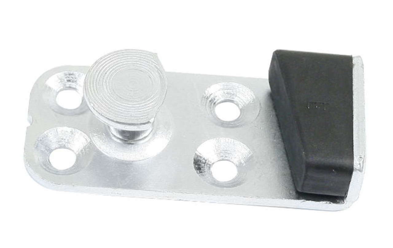 Door Striker Plate, Right, Fits Air Cooled VW Bug Type 1, 68-77 T-3 67-73, EMPI 98-8324