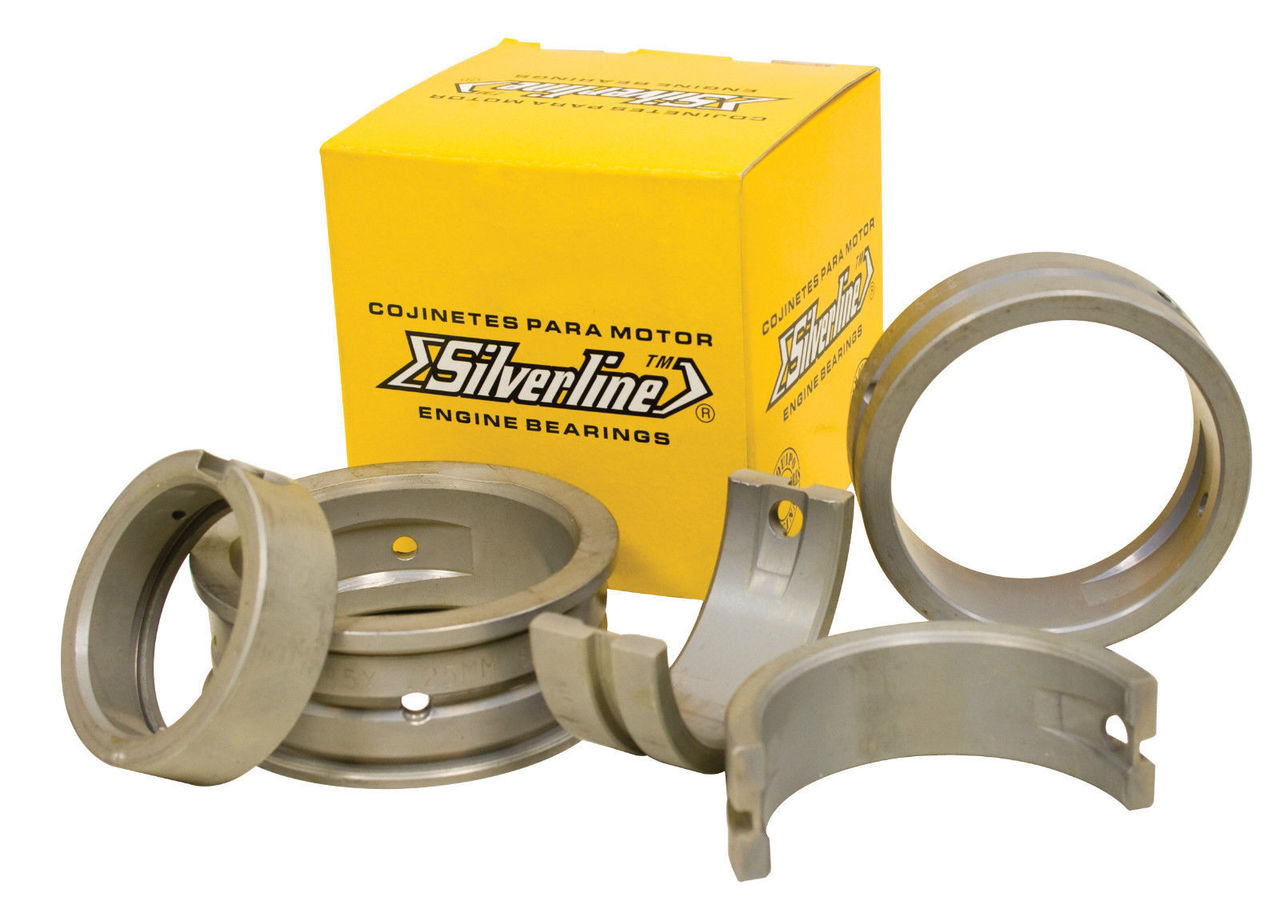 Main Bearing Set STD/.75mm, Silverline, Fits Air Cooled VW 1200-1600, EMPI 98-1467-S