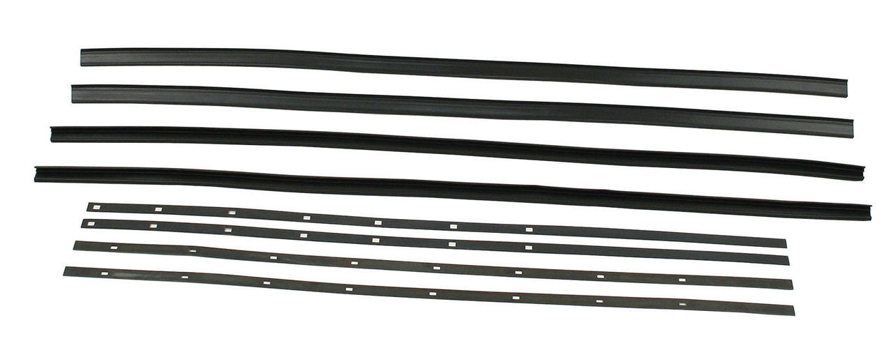 EMPI 9773 Snap In Window Scraper Kit, Compatible with VW Bug 1965 and Later