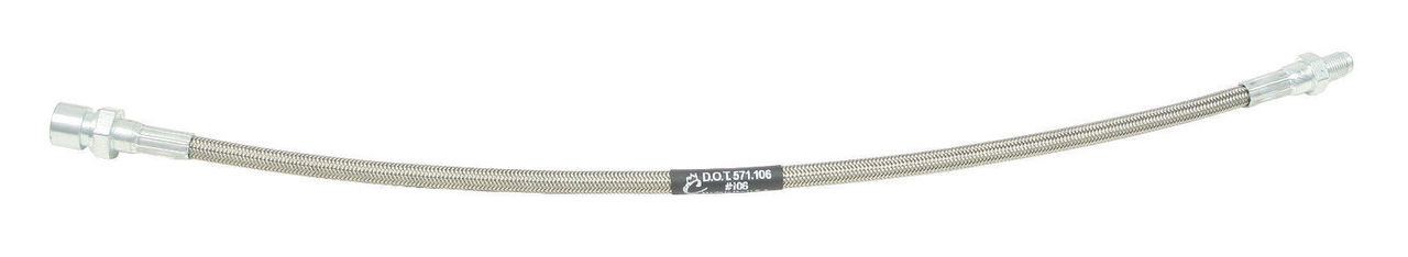 Braided Stainless Steel Brake Line Kit, 4 pc, Fits VW, Bug 69-On W/IRS Type 1, EMPI 5587