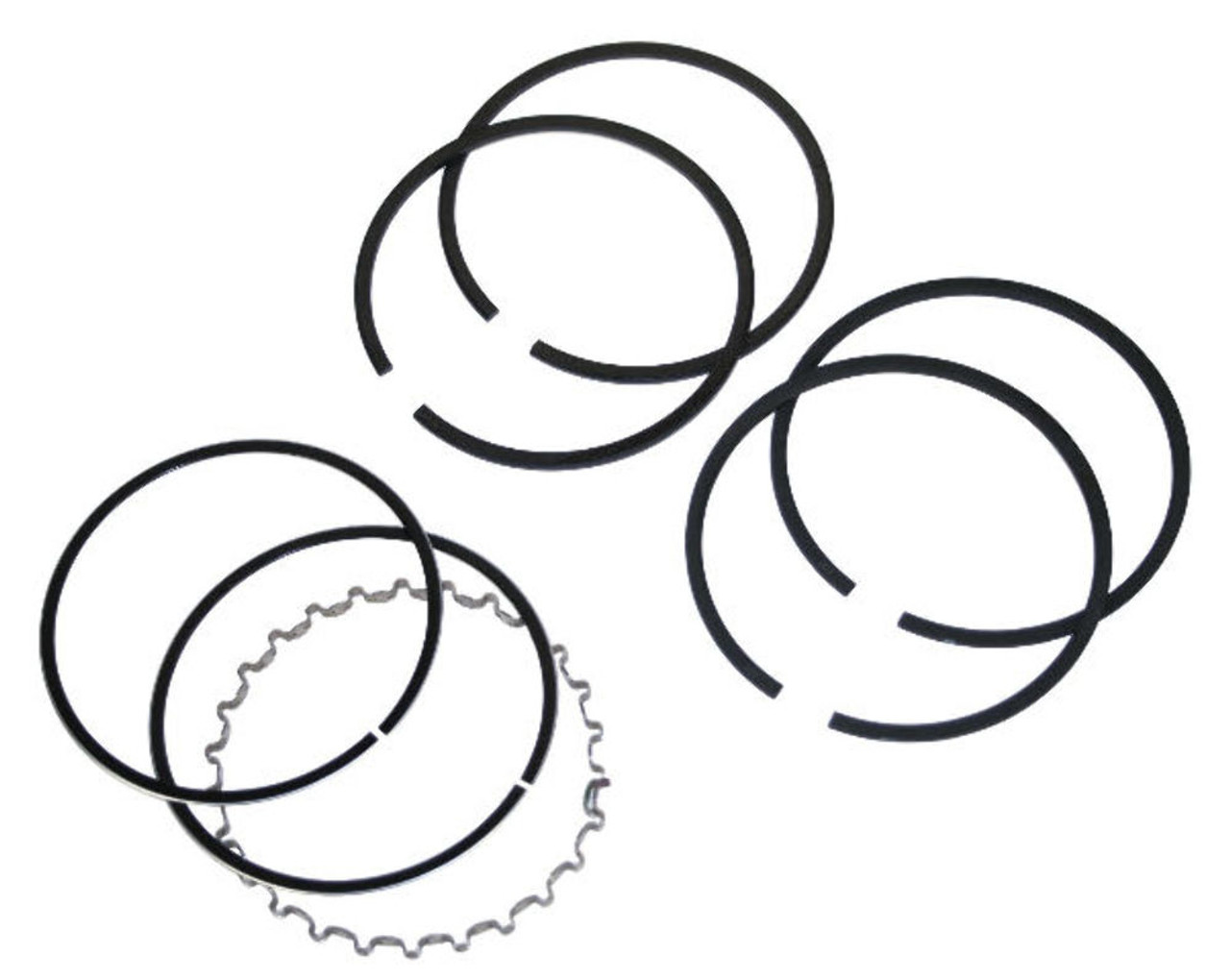 Piston Ring Set, 94 2X2.X4.0mm, Grant, Cast Top Ring, Fits VW Air Cooled, 98-1195