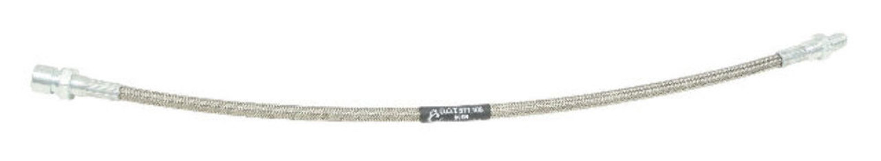 Braided Stainless Steel Brake Line Kit, 4 pc, Fits VW, Bug 73-1/2 On S/B Type 1, EMPI 5589