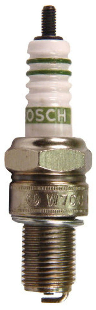Spark Plugs, Bosch WR8CC+ 14mmx3/4, Set Of 4, Fits VW Bug Air Cooled, EMPI 98-9934