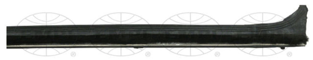 Inside Window Scraper, Right 4 Clips, Each, Fits VW Bug Air Cooled 69-Up Type-1, EMPI 98-2064