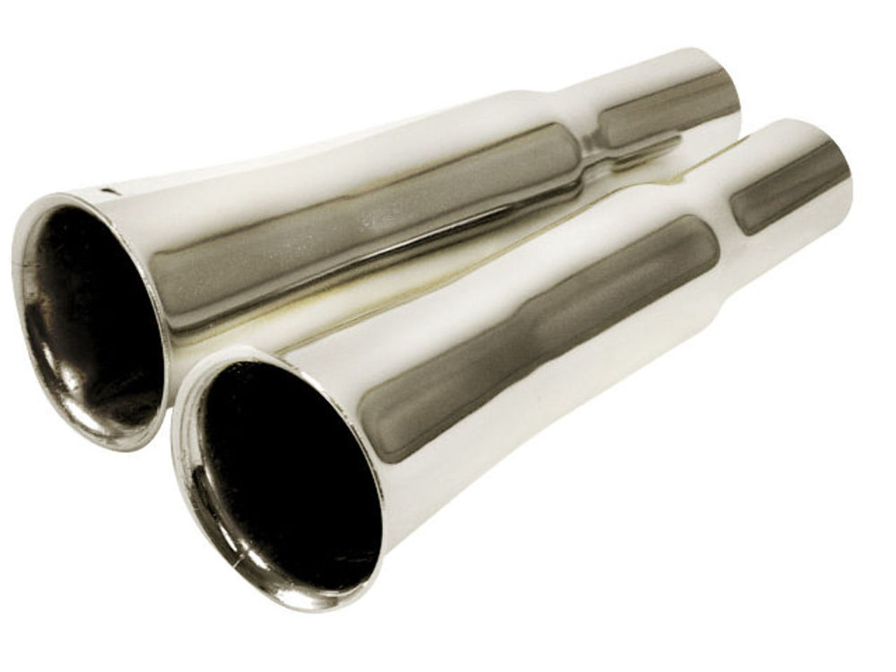 Classic VW Beetle Exhaust Muffler Tailpipe Zoom Tube Chrome Cannon Pipe Bug T1
