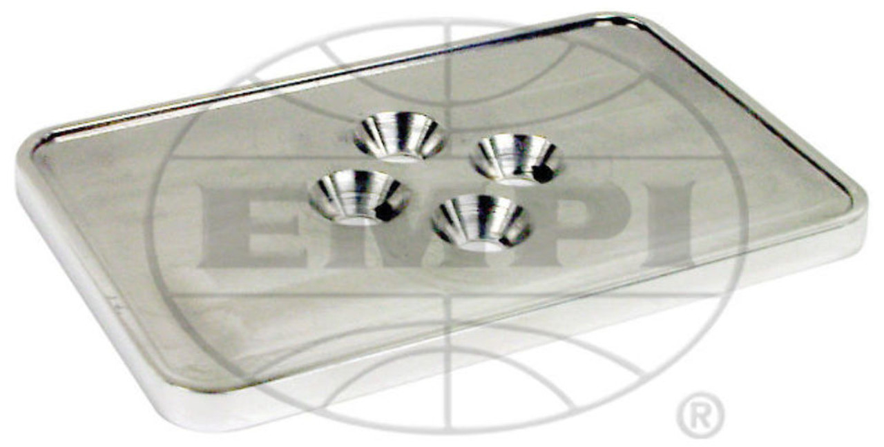 EMPI Vw Sand Rail Rock Crawler Billet Registration Sticker Holder 16-7020