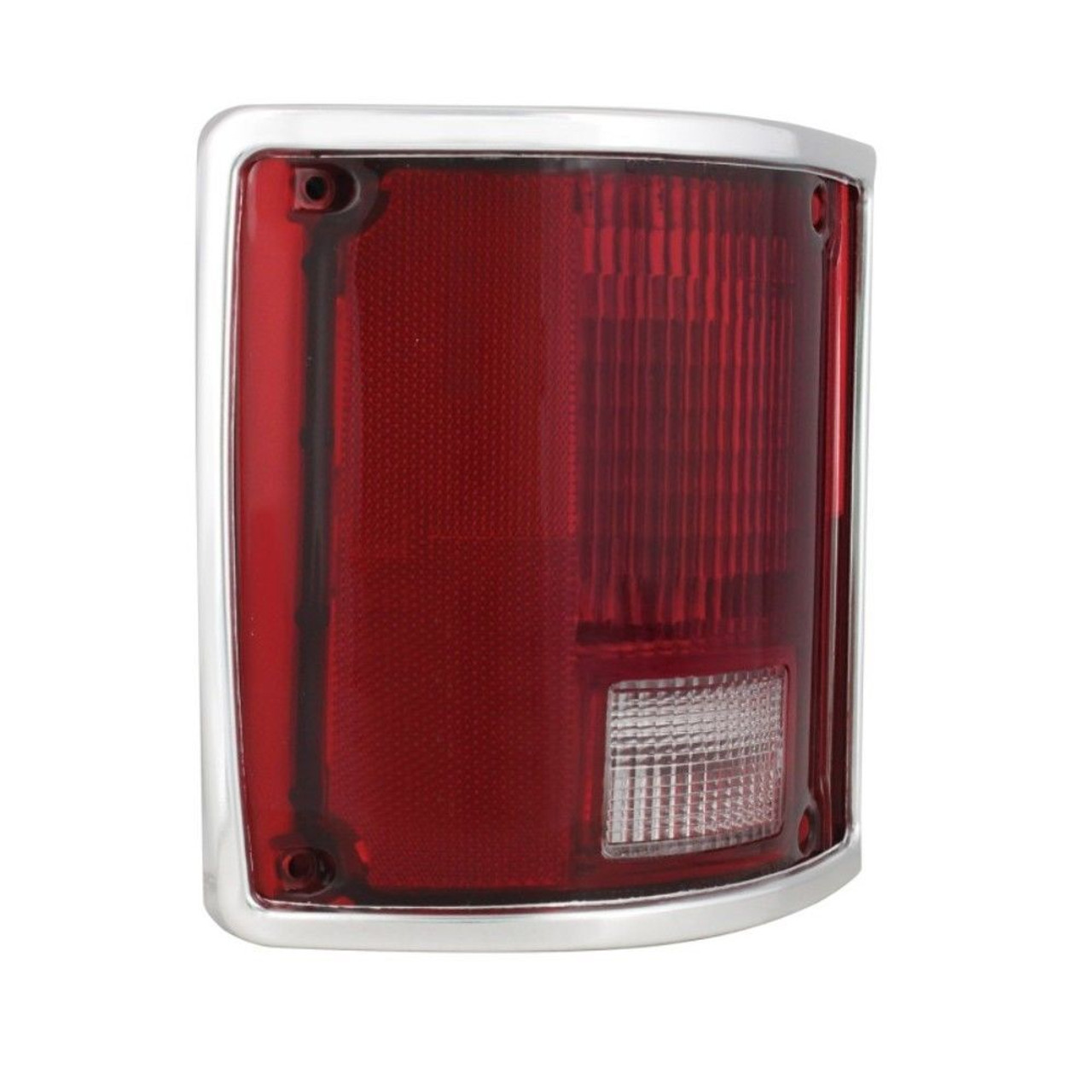 (2) 1973 - 87 Chevy/GMC Truck Tail Lamp Assembly with Trim, Pair - 74 75 76 77