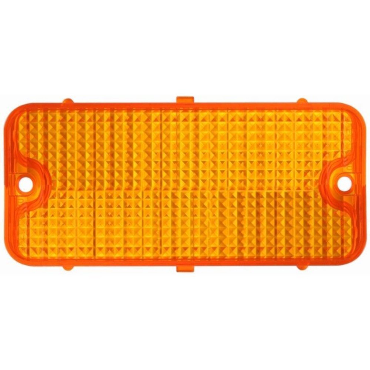 Parking Light Lens, Amber, Each, Compatible with Chevy Truck 1967-1968