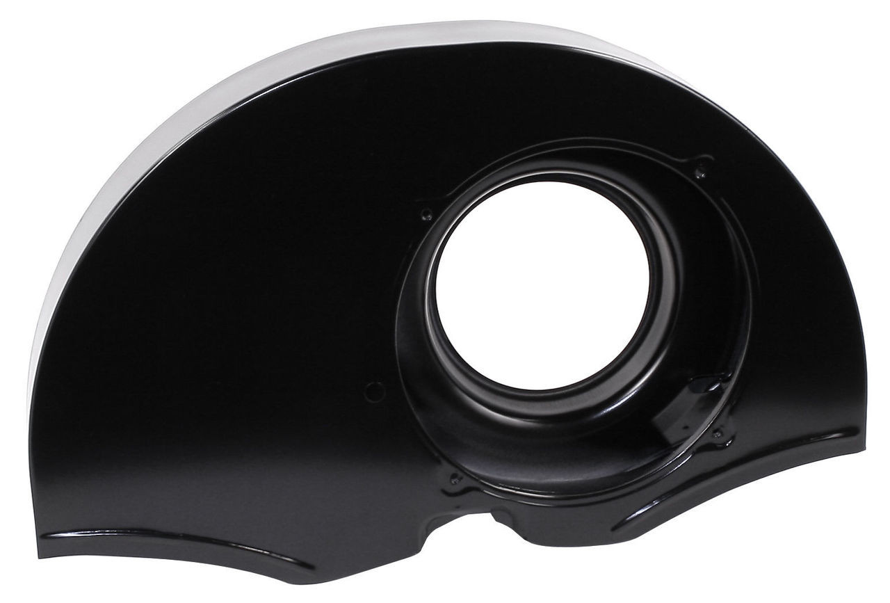 Fan Shroud without Ducts, 36hp Doghouse Style, Black, Fits Air-Cooled VW, EMPI 8672