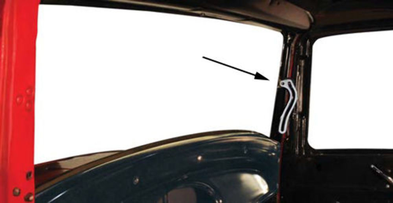 Windshield Slide Arms, Compatible with Ford Closed Car 1932