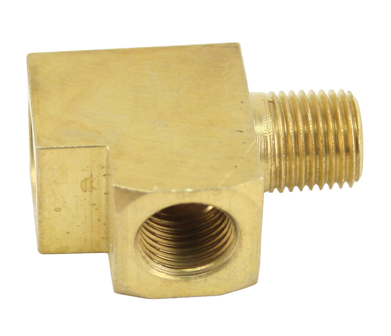 Brass T Fitting 1/8 Inch For Guages, Each, Fits VW Bug Baja Beetle Type-1