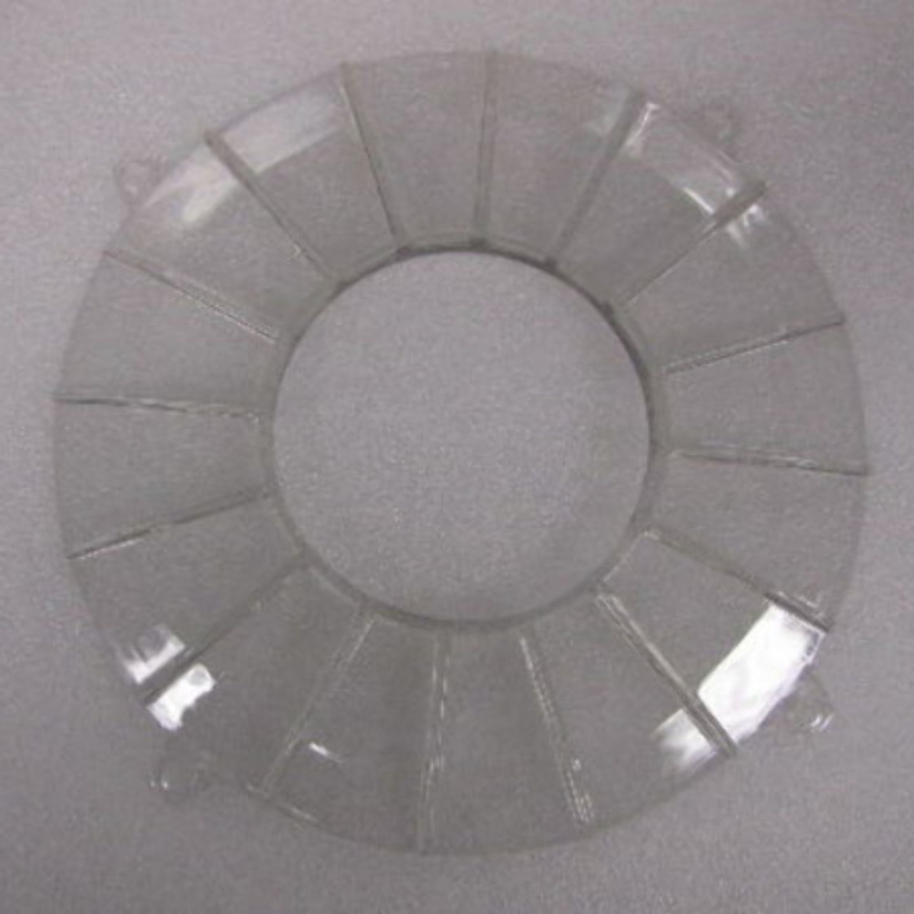 New EMPI VW Clear Finned Backing Plate Cover - 8869