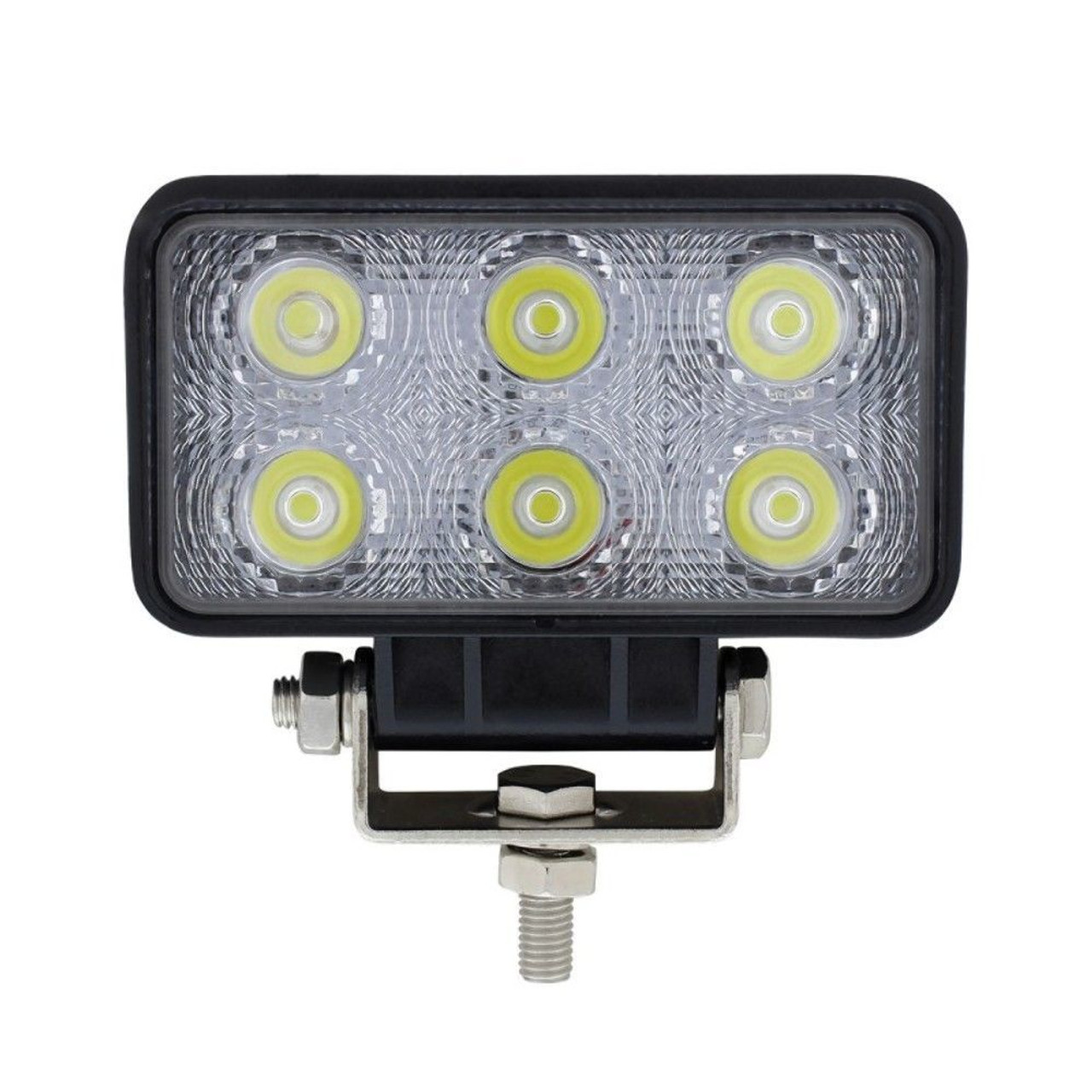 6 High Power Led Rectangular Driving/Working Light